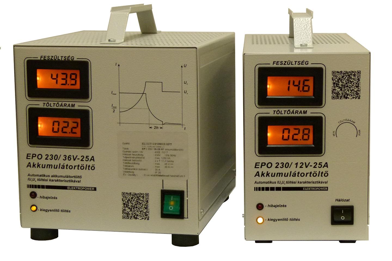 automata akkumulátor töltő, munka akkumulátor töltő, 12V